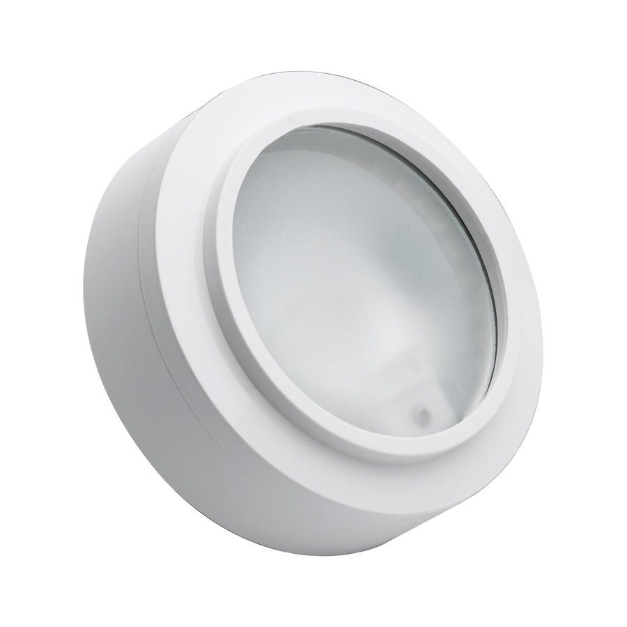 Aurora 1 Light Xenon Disc Light In White