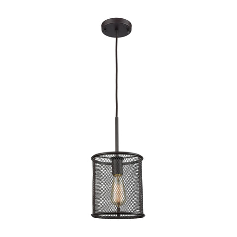 Williamsport 1 Light Pendant In Oil Rubbed Bronze