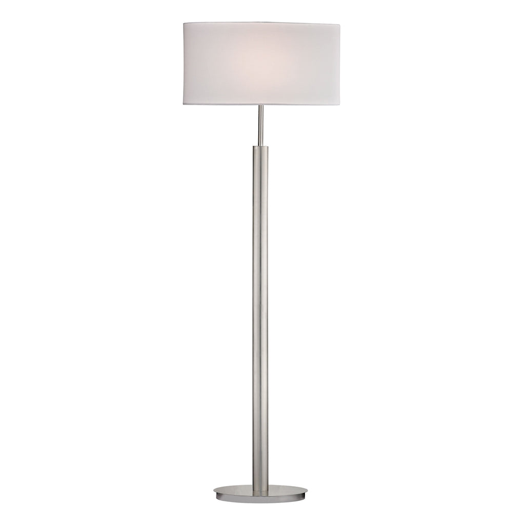 Satin Nickle Floor Lamp