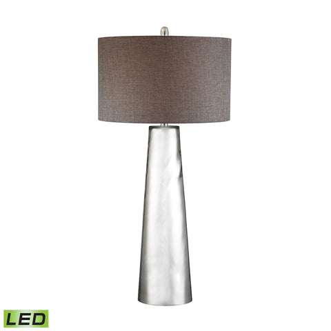 Tapered Cylinder Mercury Glass LED Table Lamp