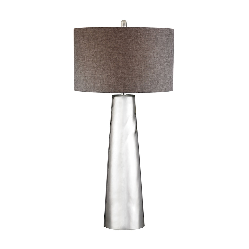 Tapered Cylinder Mercury Glass Table Lamp