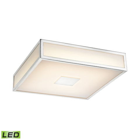 1 Light LED Ceiling Lamp in Chrome