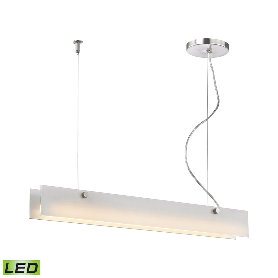 Iris LED Pendant - 10W with Allunimun Finish