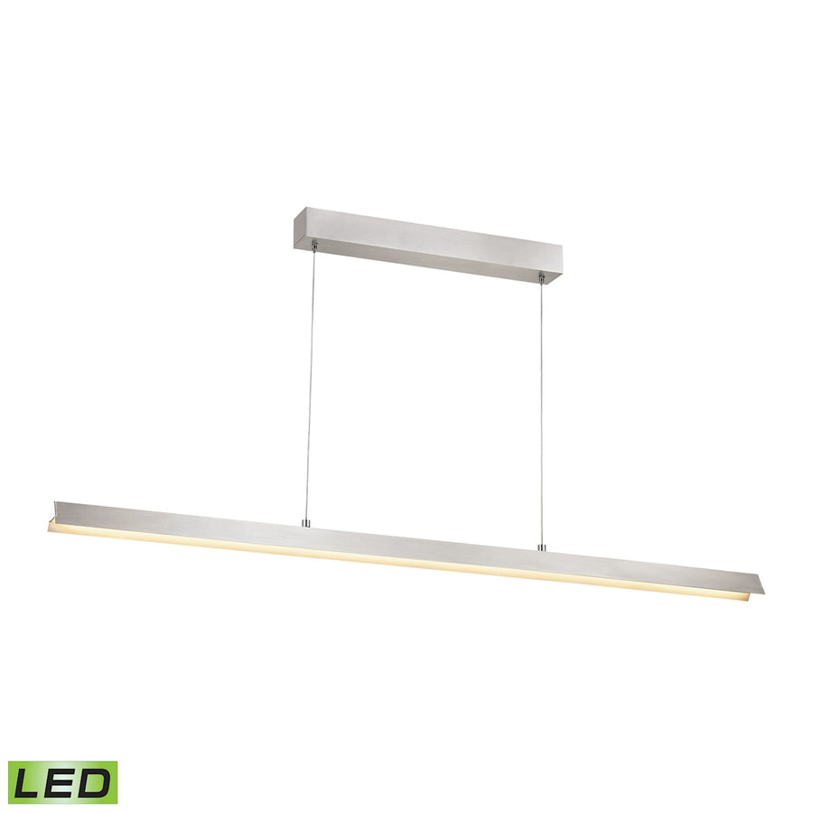 Tent Pendant - LED 30W Alluminum Finish