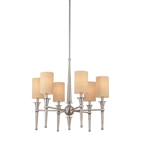 ALLURE chandelier Brushed Nickel 6x40W