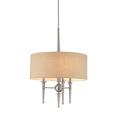 ALLURE pendant Brushed Nickel 3x60W 120