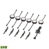 Tuxedo 6 Piece LED Undercabinet Light Set In Black