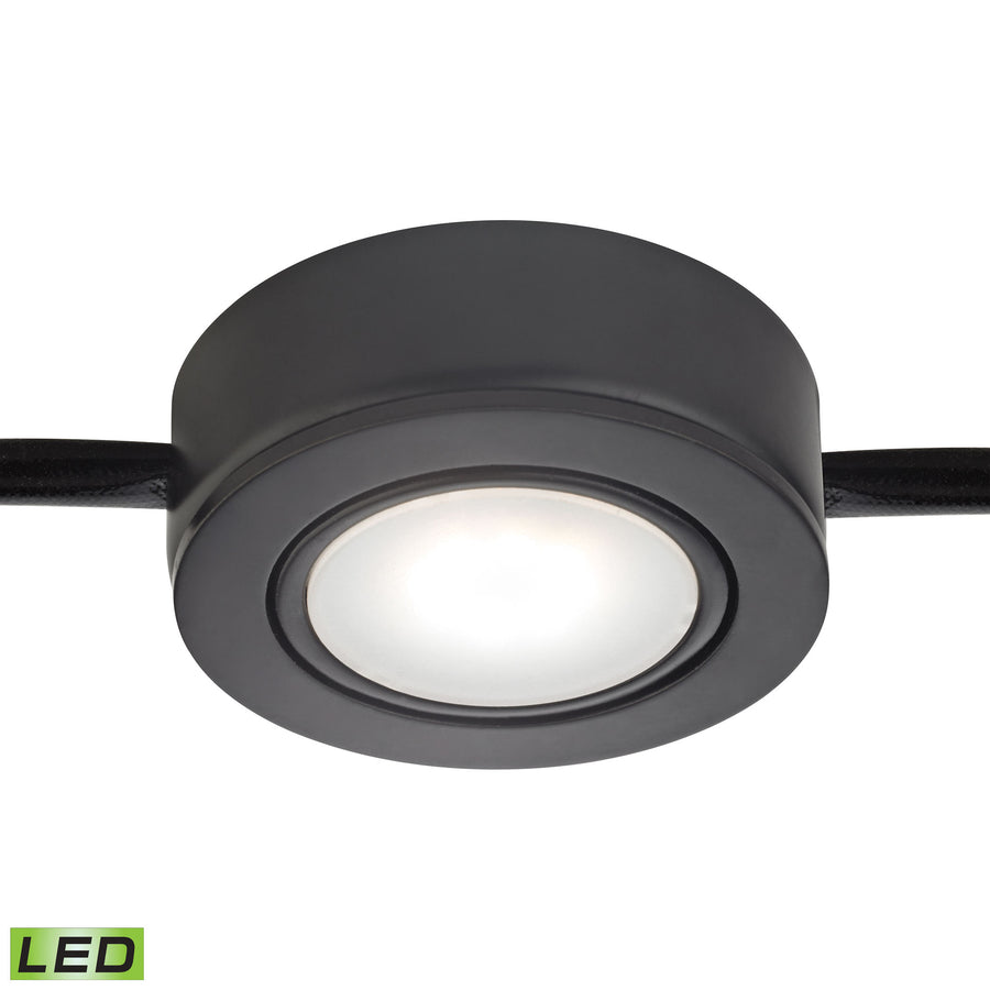 Tuxedo Swivel 1 Light LED Undercabinet Light In Black