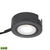 Tuxedo Swivel 1 Light LED Undercabinet Light In Black With Power Cord And Plug