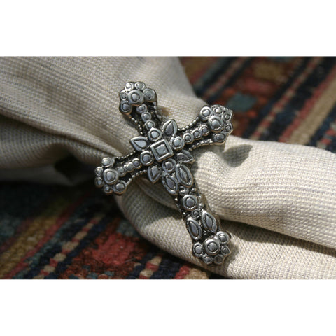 Cross Napkin Rings (Set of 4)