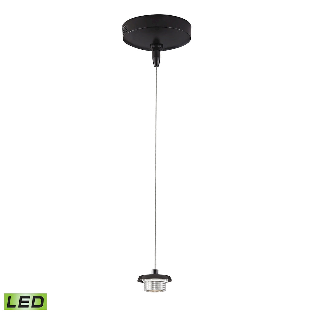 Low Voltage Collection 1 light mini pendant (less glass) in Oil Rubbed Bronze