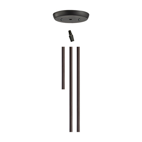 Illuminare Accessories Oil Rubbed Bronze Rod Kit
