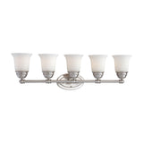 BELLA wall lamp Brushed Nickel 5x100W