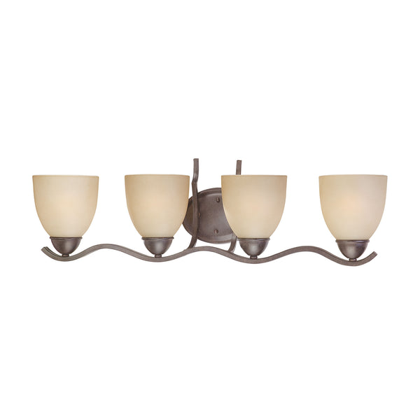 TRITON wall lamp Sable Bronze 4x100W 120