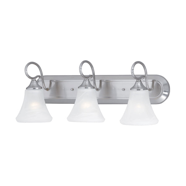 ELIPSE wall lamp Brushed Nickel 3x100W