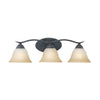 PRESTIGE wall lamp Sable Bronze 3x100W