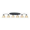 PRESTIGE wall lamp Sable Bronze 6x100W