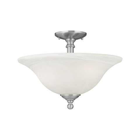 RIVA ceiling lamp Brushed Nickel 3x100W