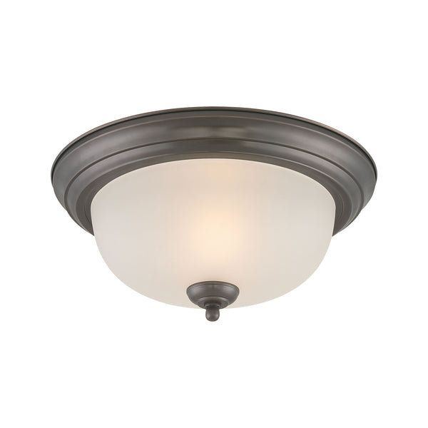 Pendenza ceiling lamp Oiled Bronze 2x60