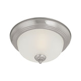 Pendenza ceiling lamp Brushed Nickel 2x