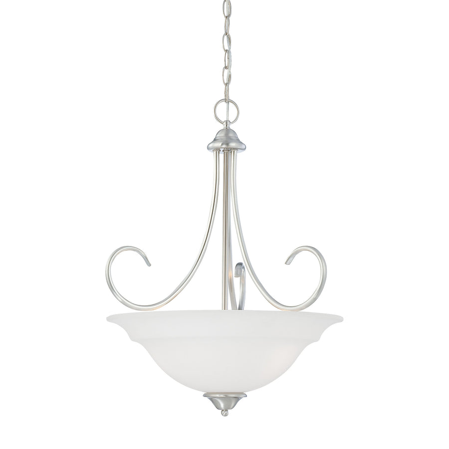 BELLA pendant Brushed Nickel 3x100W 120
