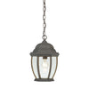 COVINGTON lantern pendant Painted Bronze