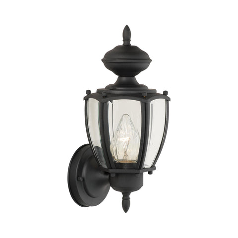 PARK AVENUE wall lantern Black 1x100W