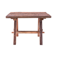Rustic Table with Bench