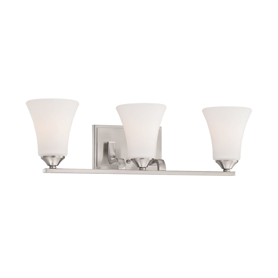 Treme wall lamp Brushed Nickel 3x100W