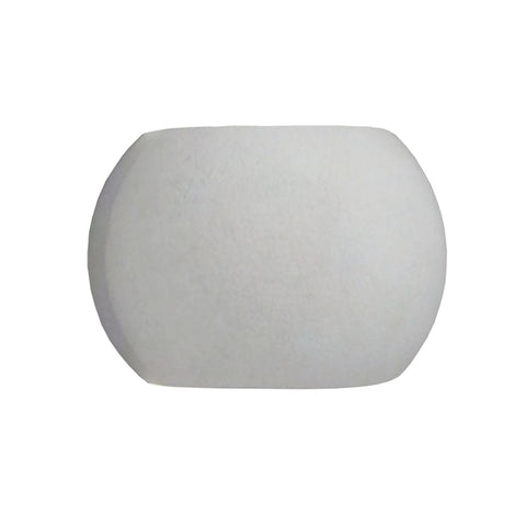 Castle 5-Light Sconce in Natural Concrete with Sphere-shaped Concrete Shade - Integrated LED