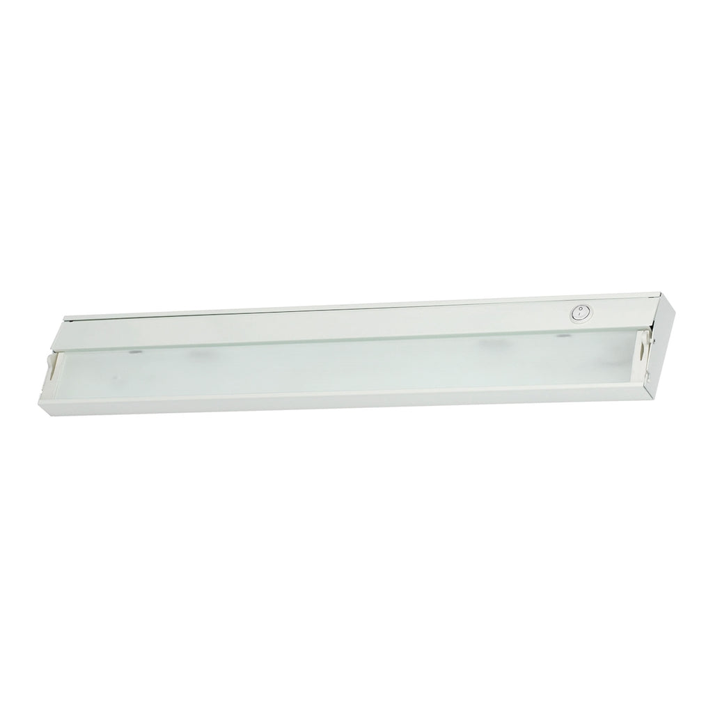 Zeeline 3-Light Under-cabinet Light in White with Diffused Glass