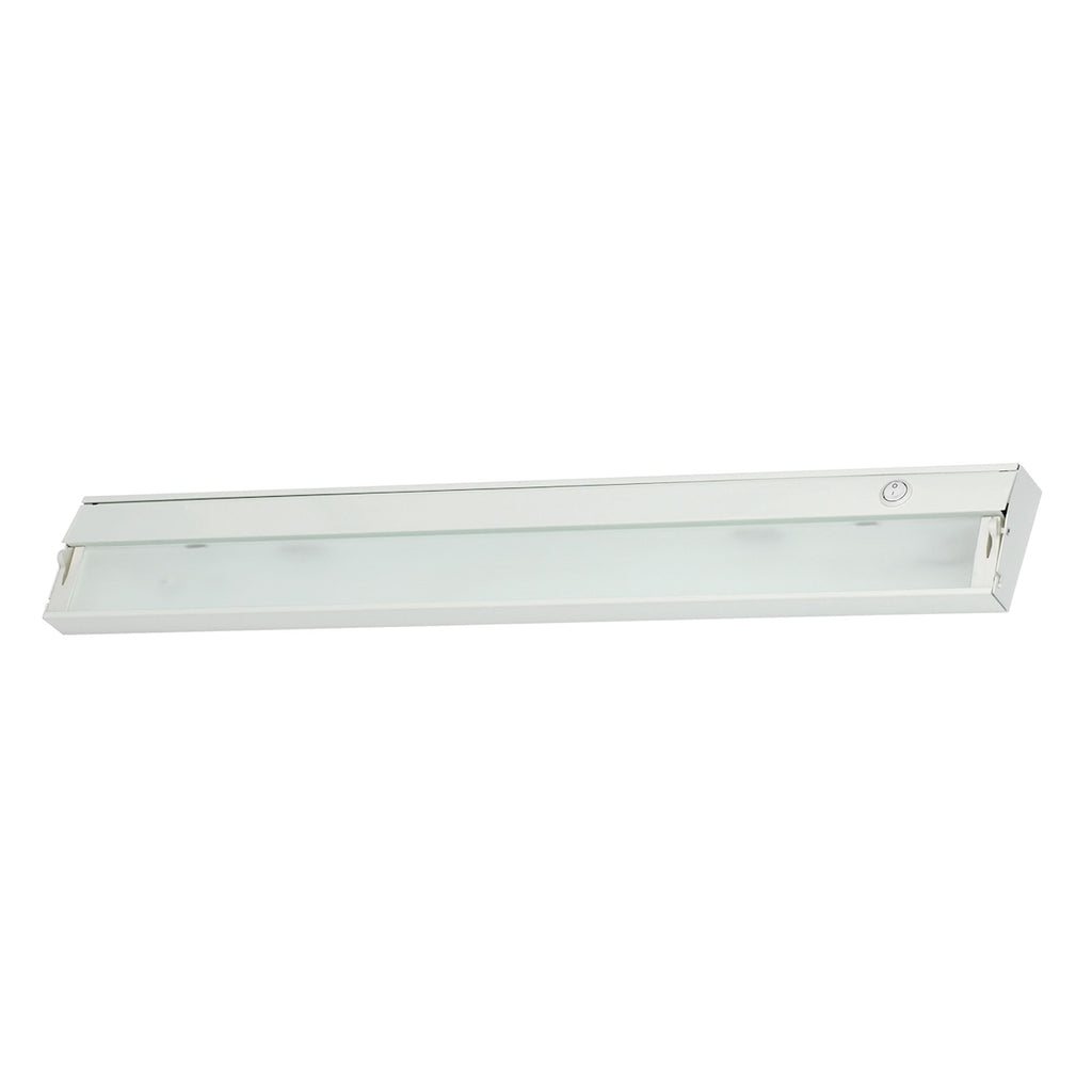Zeeline 4-Light Under-cabinet Light in White with Diffused Glass