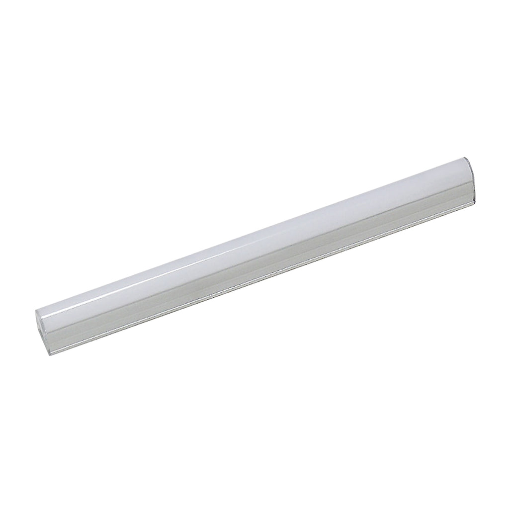 ZeeStick 1-Light Utility Light in White with Frosted White Polycarbonate Diffuser - Integrated LED