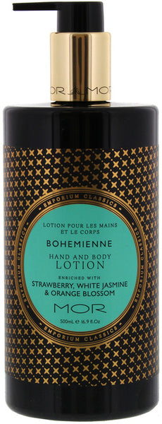 MOR Bohemienne Hand and Body lotion
