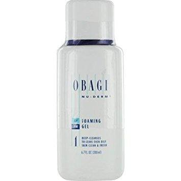 OBAGI nu-derm foaming gel 6.7oz