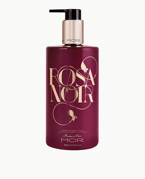 MOR hand and body lotion Rosa Noir