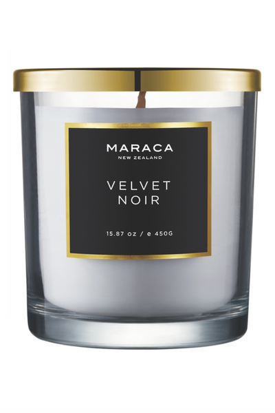 Maraca Velvet Noir Fragranced Candle (450G)