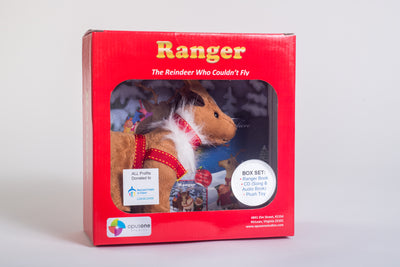 The legend of ranger boxed set in red box