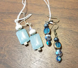 Lune Gem Drop Earrings
