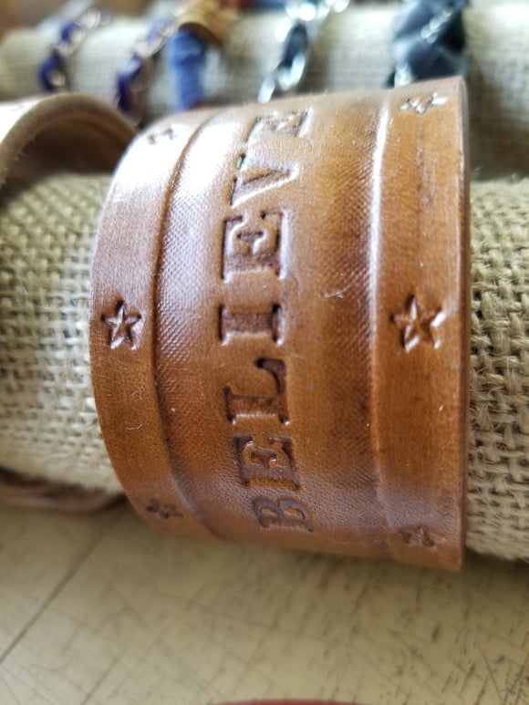 Custom Stamped Wristband