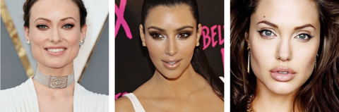 Celebrities with Almond Shaped Eyes finding the perfect lash style.