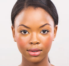 African American Woman With Round Eye Shape - Mademoiselle Lash - Lash Guide