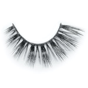 Close up of Mandee Long Fake Lashes