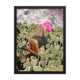 Prickly Pear - Framed