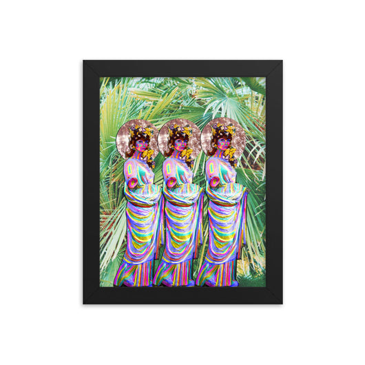 Three Wise Ladies - Framed