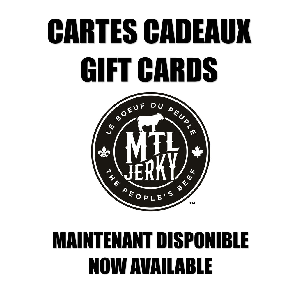 MTL Jerky Gift Cards