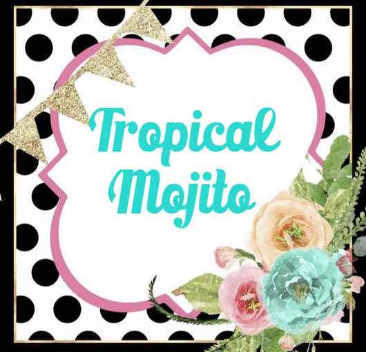 Tropical Mojito Tin Freshie