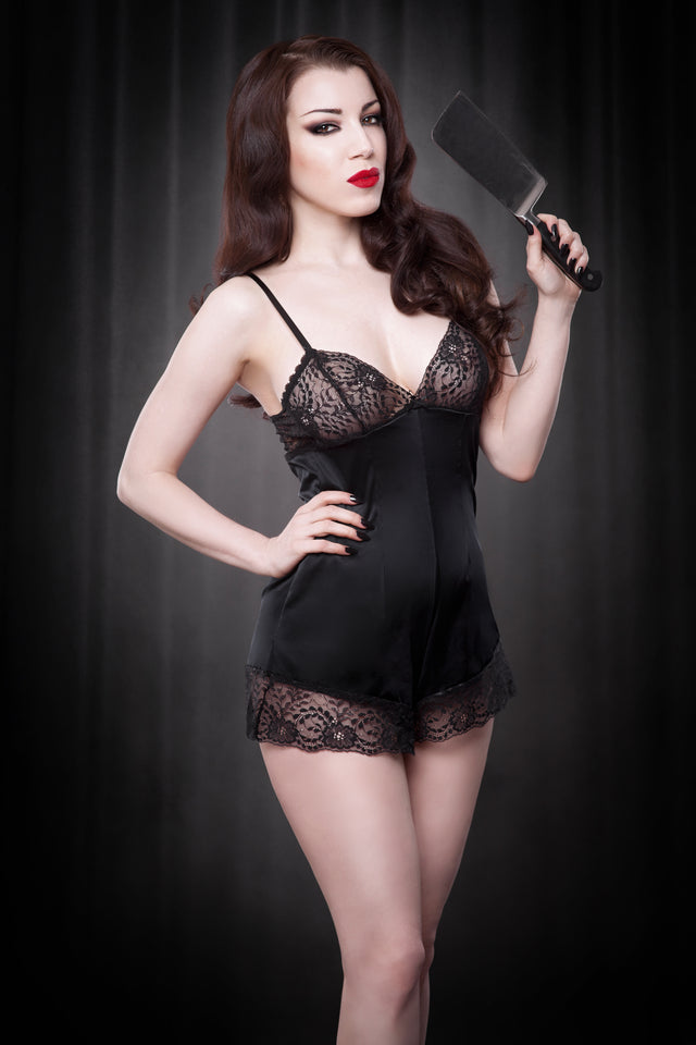 Black Cherie Teddy