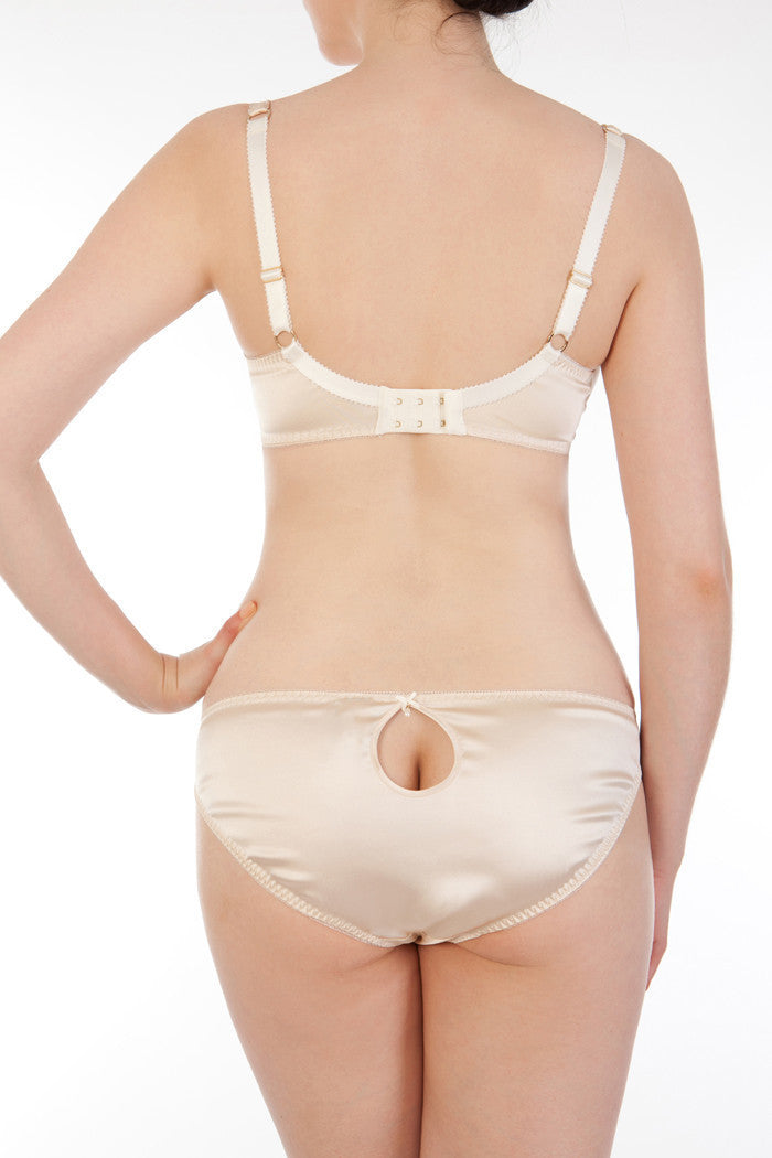 Eleanor Almond Full Cup Bra DD-G