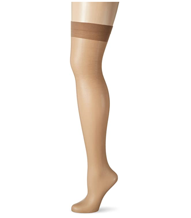 Fiore Marlena Tan Stretch Seamed Stockings